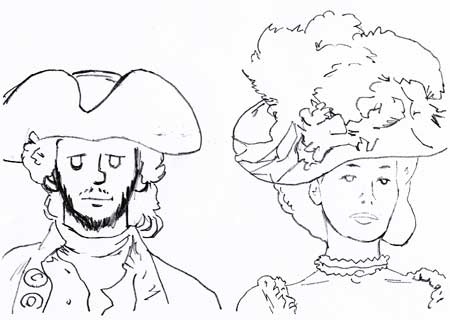 crayonne hommage Barry Lyndon