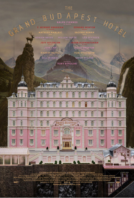 affiche grand hotel budapest