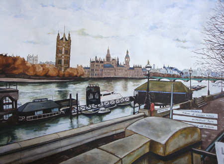 aquarelle londres