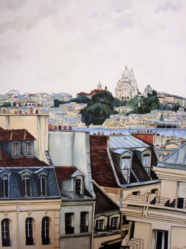 peinture paris pompidou