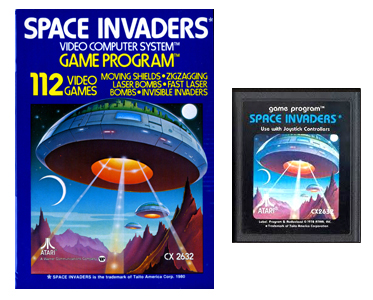 Space Invadeurs atari 2600