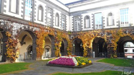 automne jardin de la mairie clermont ferrand