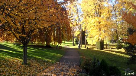 automne parc bargoin clermont ferrand