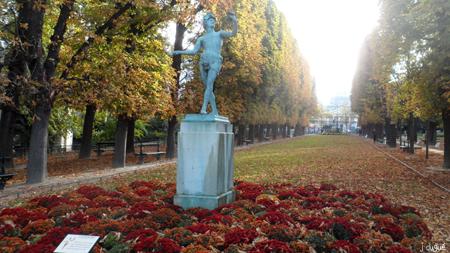 automne paris jardin du luxembourg