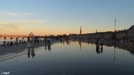 coucher de soleil bordeaux