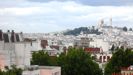 butte bergeyre vue paris 19e