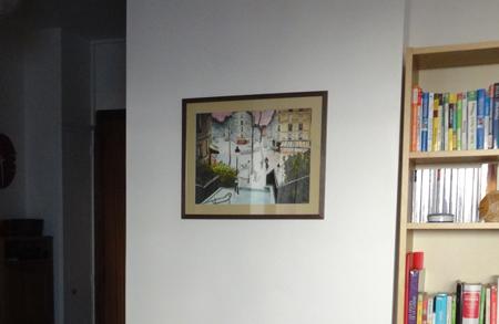 cadre peinture montmartre