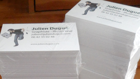 CARTES DE VISITE Blog De Julien Dugue