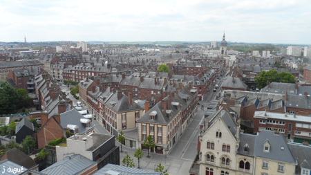 cathedrale amiens panorama ville