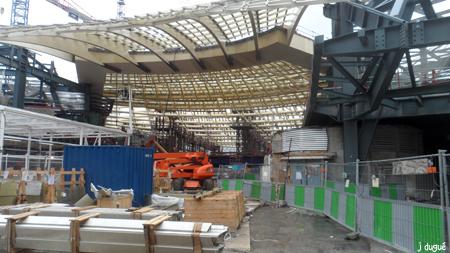 chantier des halles