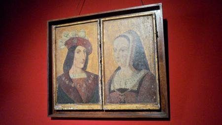 chateau langeais charles VIII et Anne de Bretagne