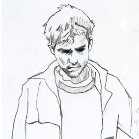Damon Albarn illustration