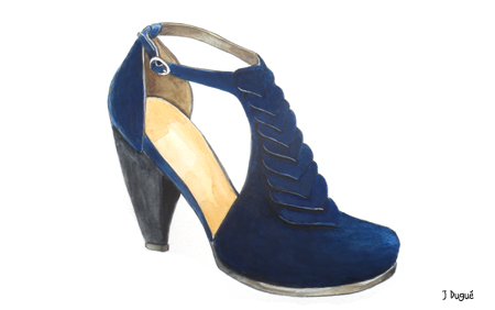dessin chaussures escarpins