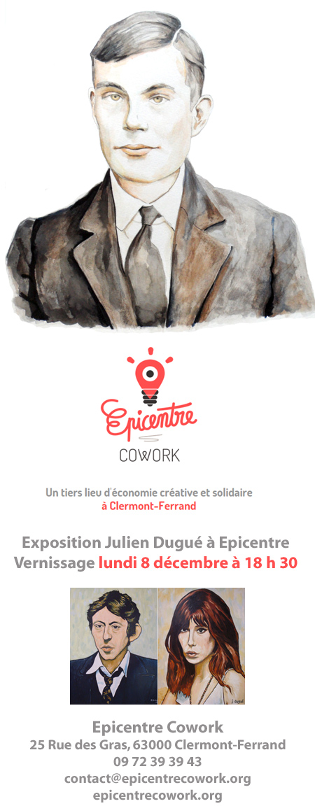 expo julien dugue epicentre cowork clermont ferrand