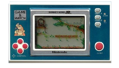 game & watch donkey kong jr