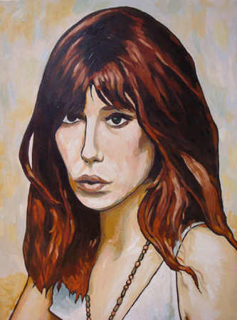 jane birkin portrait