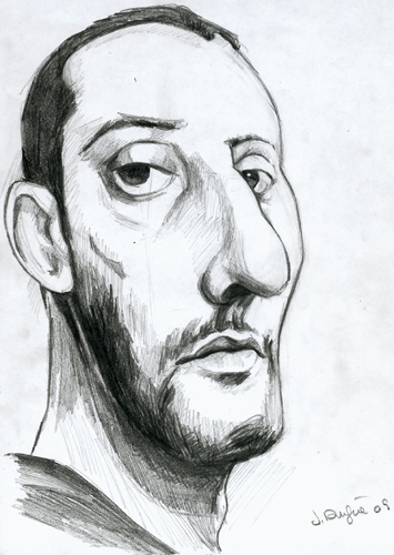 jean reno caricature
