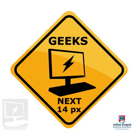 panneau australien geeks