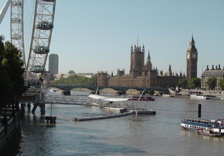 big ben et le parlement