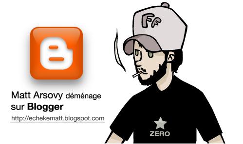Matt Arsovy sur blogger