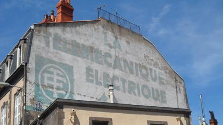 publicité murs peints