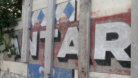 publicité mur peint antar