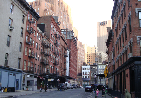 rue de New york