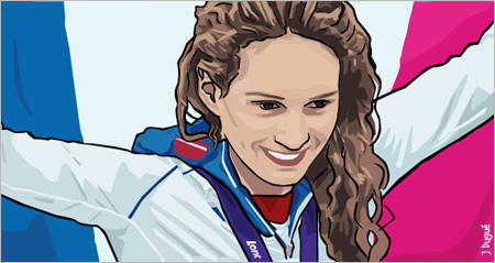 camille muffat championne olympique