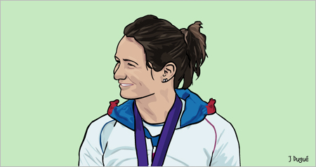 emilie fer championne olympique