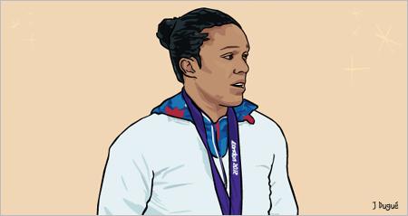 lucie decosse championne olympique