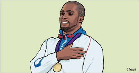 teddy riner champion olympique