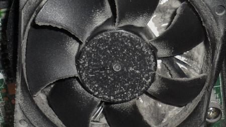 ventilateur ordinateur poussiere
