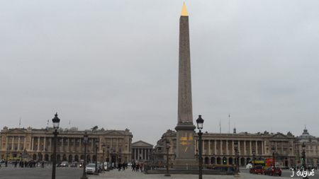 paris egypte l'obélisque place de la Concorde