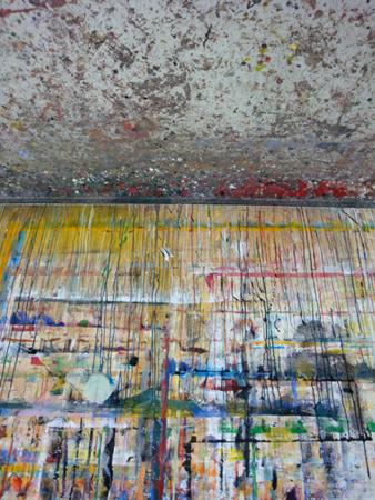 abstraits peintures