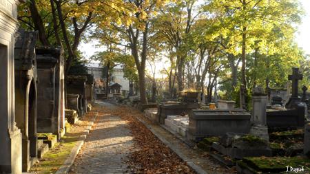 pere lachaise automne