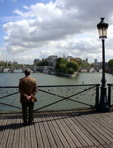 pont des arts photo paris