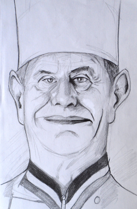 portrait paul bocuse