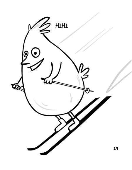 poussin ski