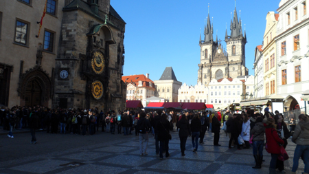 prague place vielle ville