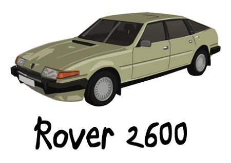 rover sd1 2600