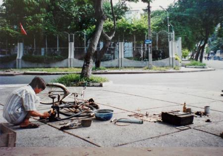 vélo réparateur