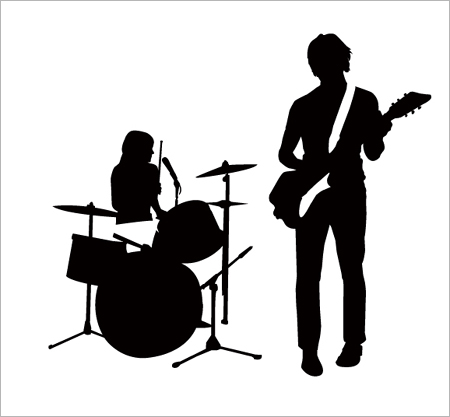white stripes logo