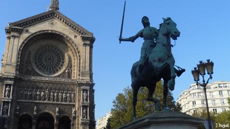 statue jeanne d arc saint augustin