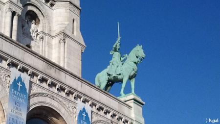 statue jeanne d arc montmartre
