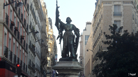 statue jeanne d arc 13e paris