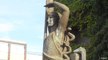 statue la france clermont