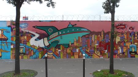 street art paris rue ordener