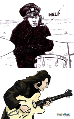 beatles illustrations