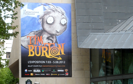 tim burton paris