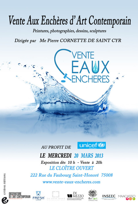 vente eaux encheres paris